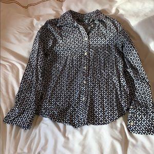 Ralph Lauren non iron blouse size small